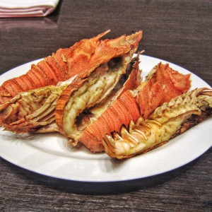 Grilled Slipper Lobster