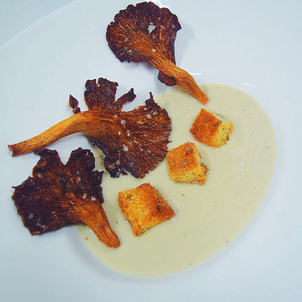 Cream of Mushroom and Potato Soup