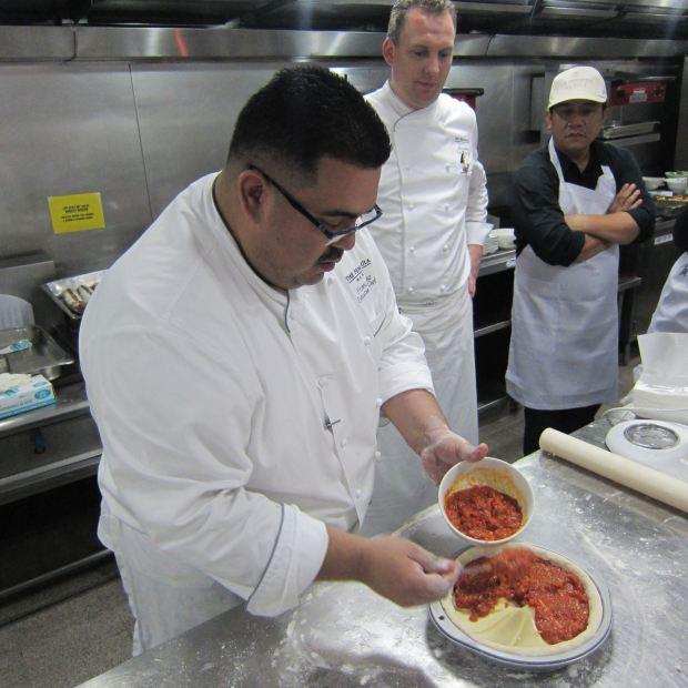 Executibe Sous Chef Franco Diaz