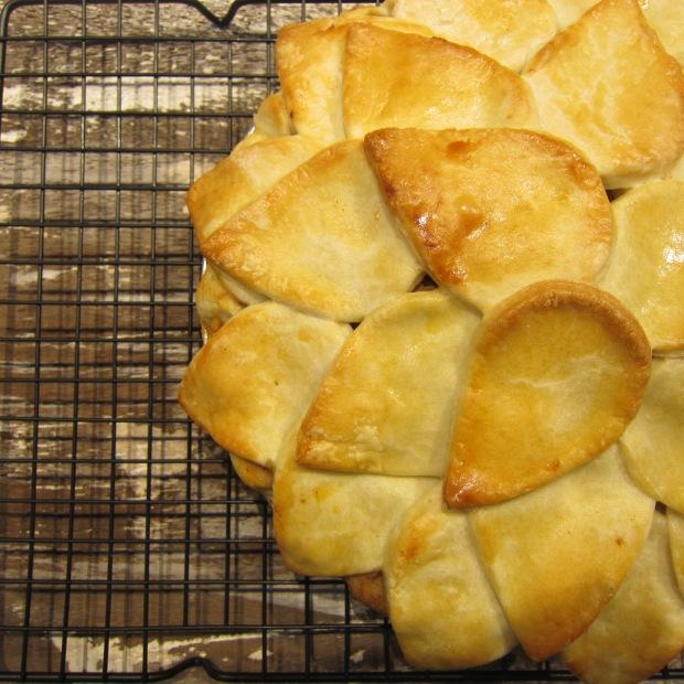 Pear Honey Walnut Pie