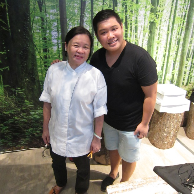 with Chef Penk Ching