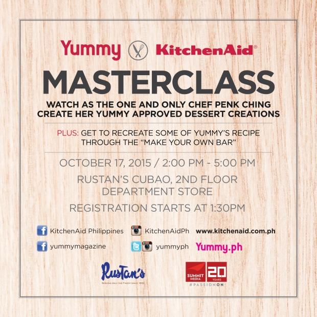 Yummy X KitchenAid Master Class