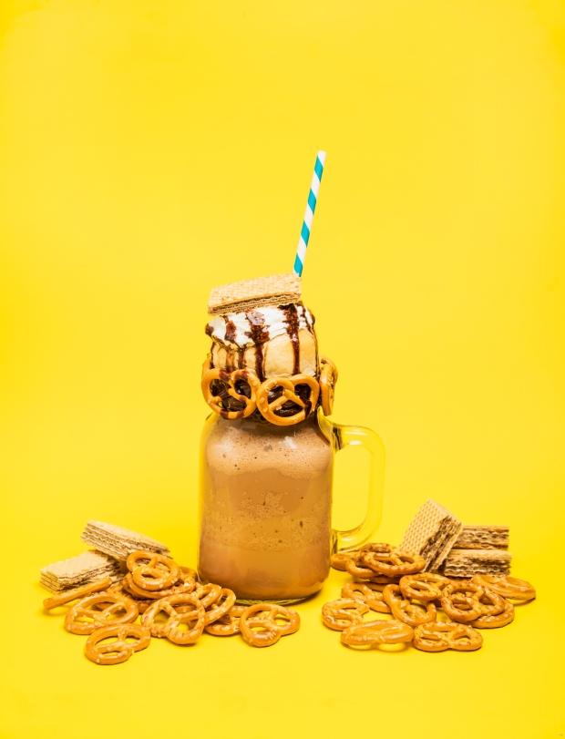 Choco Hazelnut Milkshake