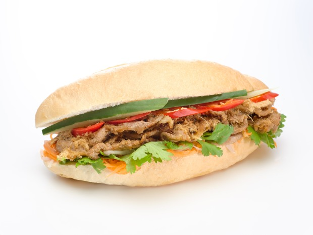 Banh mi -Sauteed Lemongrass Pork, Cream Cheese.jpg