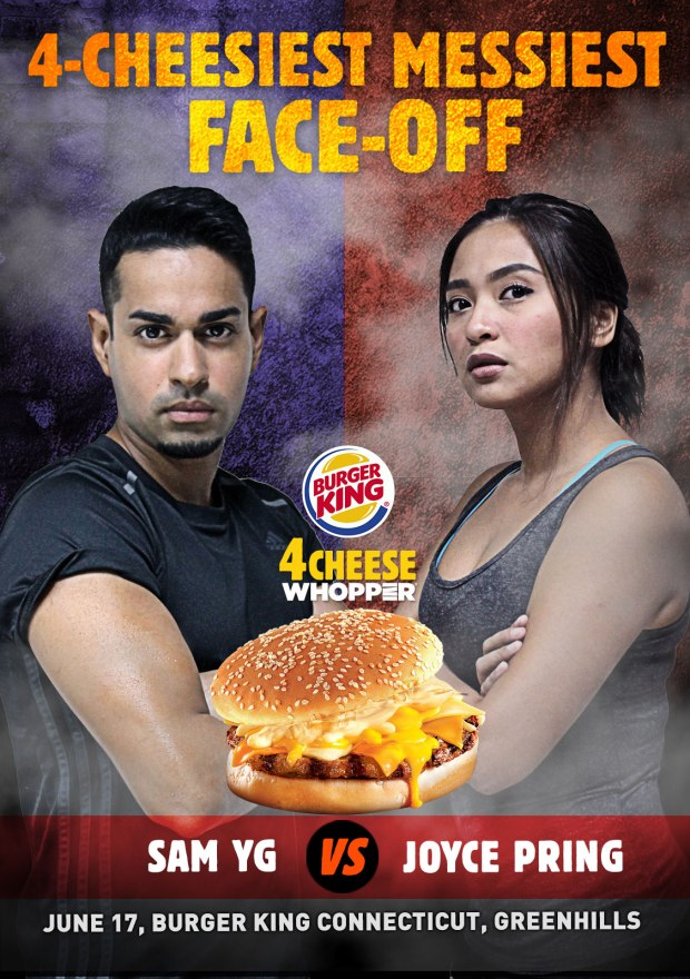 Burger King 4-Cheese Whopper 4-Cheesiest Messiest Face-Off Poster Vertical (Leonardo 2016 05 May).jpg