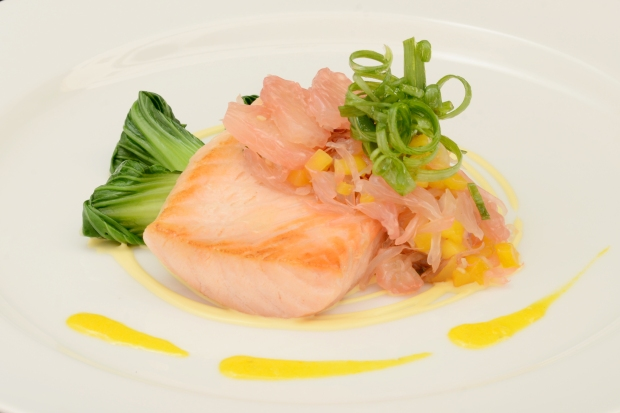 DVO Main dish - Slow Baked Salmon Fillet with Pomelo.jpg