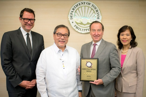 Marco Polo Ortigas, Manila Receives 5-star Award.jpg