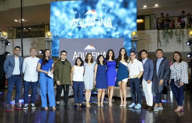 Aquafina ambassadors along with the brand team for #BestBeginsNow.JPG