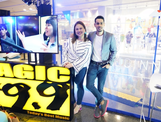 Host Like A Pro with Magic 89.9's Sam YG and Suzy Gamboa.JPG