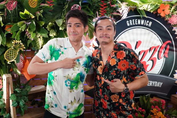 Robi Domingo and JC Santos came to celebrate Bela and Yassi's birthday.JPG