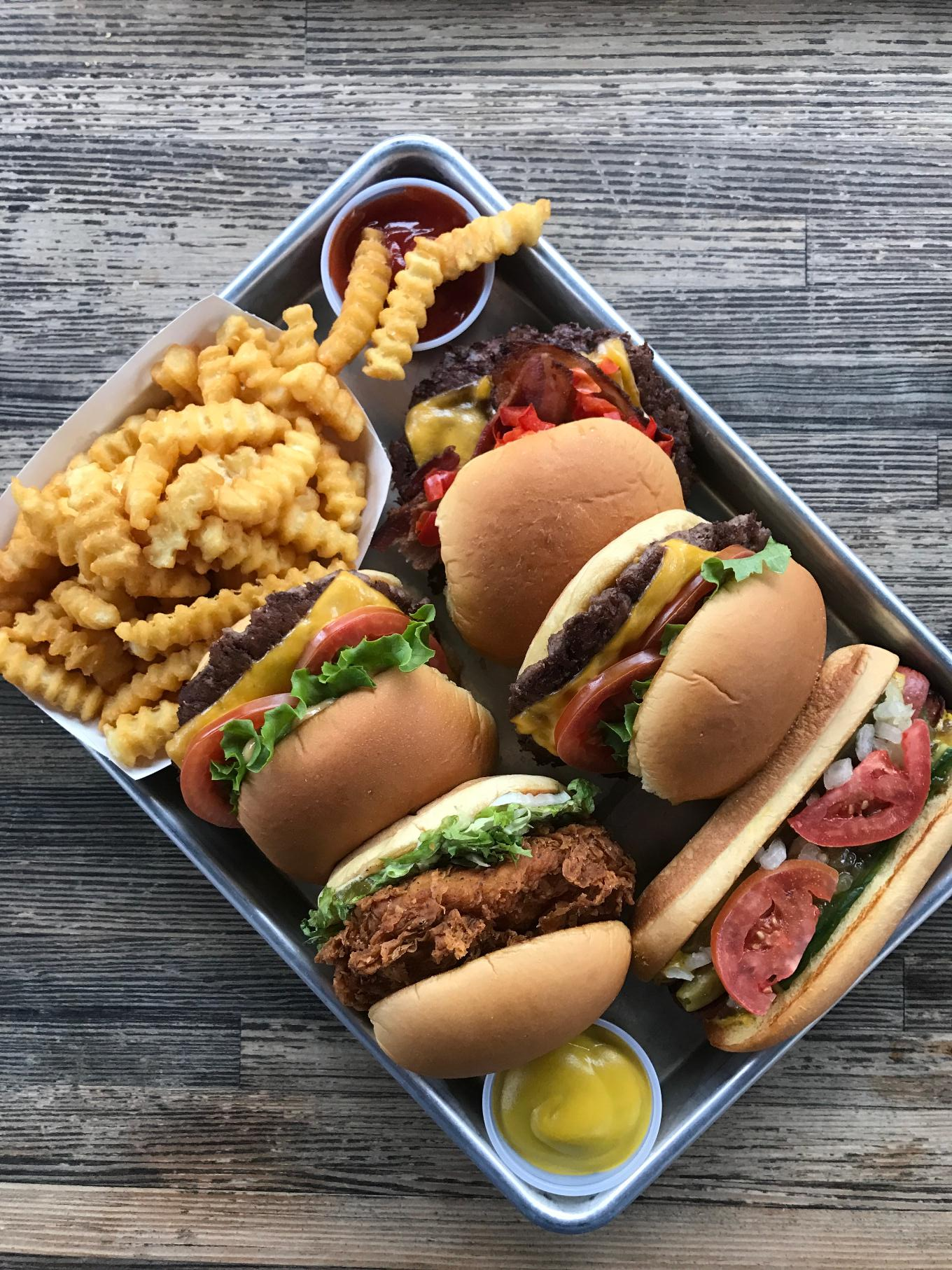 Shake Shack food offerings.JPG