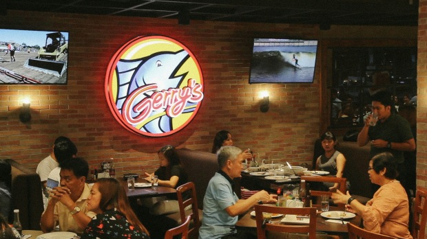 The Gerry's Restaurant and Bar at Calle Bistro can accommodate big group of diners..jpg