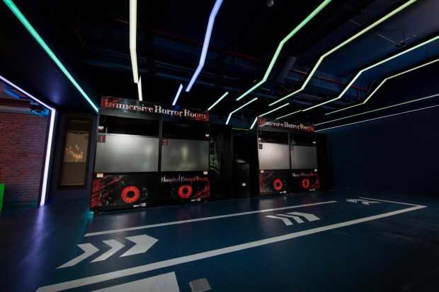 12. The Garage - VR Zone featuring Hospital Escape Terror.jpg