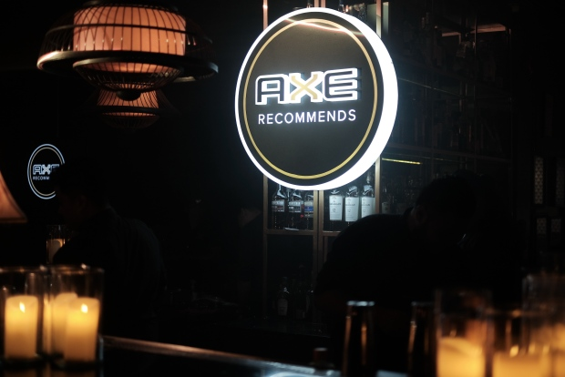 Axe launches Axe Recommends, the modern man's complete guide to everything lifestyle.JPG
