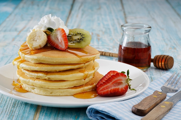 Healthy Hotcakes with Fresh Fruit Photo 1.JPG