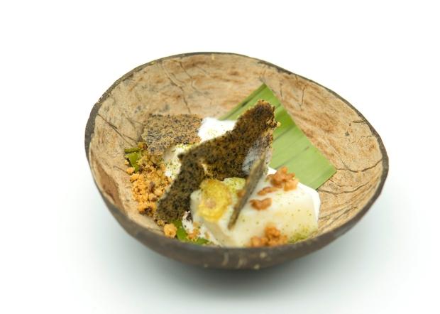 COCONUT, tibuk-tibok, latik, burnt coconut tuile.jpg