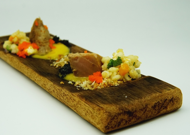 Sous-Vide Tuna with Couscous salad and Mango Coconut Sauce (2).jpg